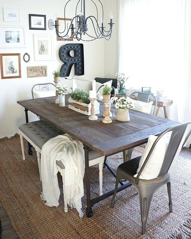 Barn House Dining Tables Intended For 2018 This Is Farmhouse Extension Dining Table Collection Farm House (View 6 of 20)