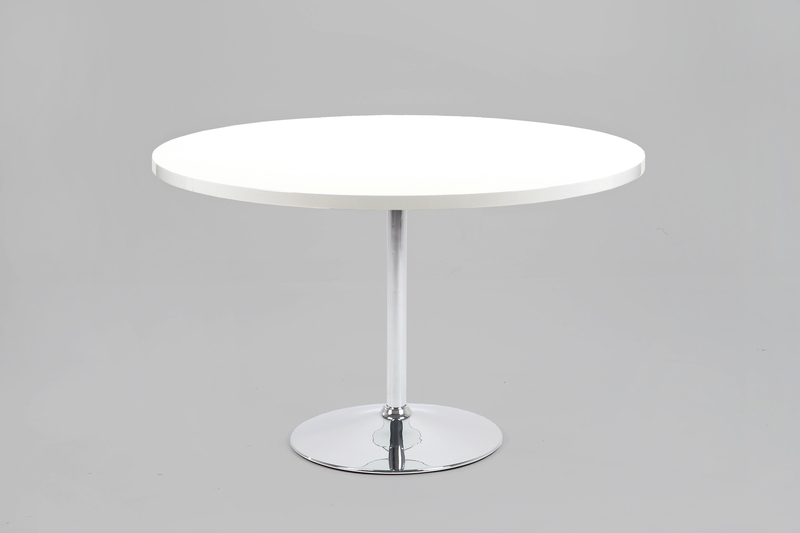 Becky Round White High Gloss Dining Table 120Cm (Discontinued Intended For Most Recently Released White Gloss Dining Tables 120Cm (View 2 of 20)