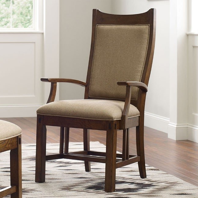 Bedford Park Craftsman Arm Chair (Set Of 2) Kincaid Furniture Regarding Widely Used Craftsman Arm Chairs (View 4 of 20)