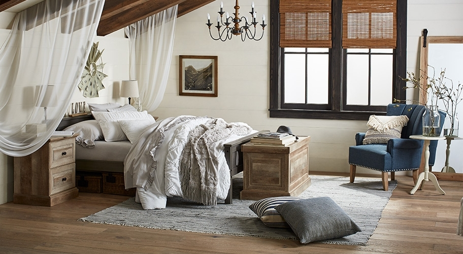 Bedroom Furniture Intended For Well Known Garten Linen Skirted Side Chairs Set Of  (View 1 of 20)