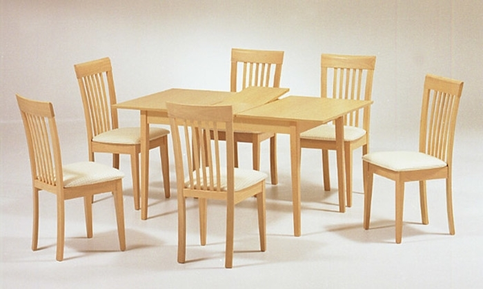 Beech Dining Tables And Chairs Throughout Widely Used (View 6 of 20)