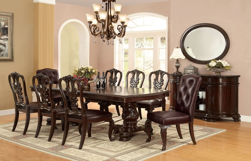 Bellagio Dining Tables Pertaining To Newest Furniture Of America (View 5 of 20)