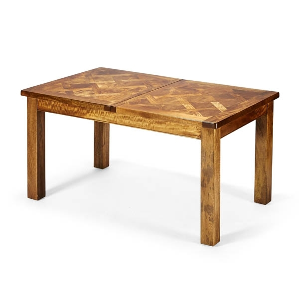 Bellagio Dining Tables Regarding Well Known Bellagio Parquetry Extension 150cm Table (View 16 of 20)