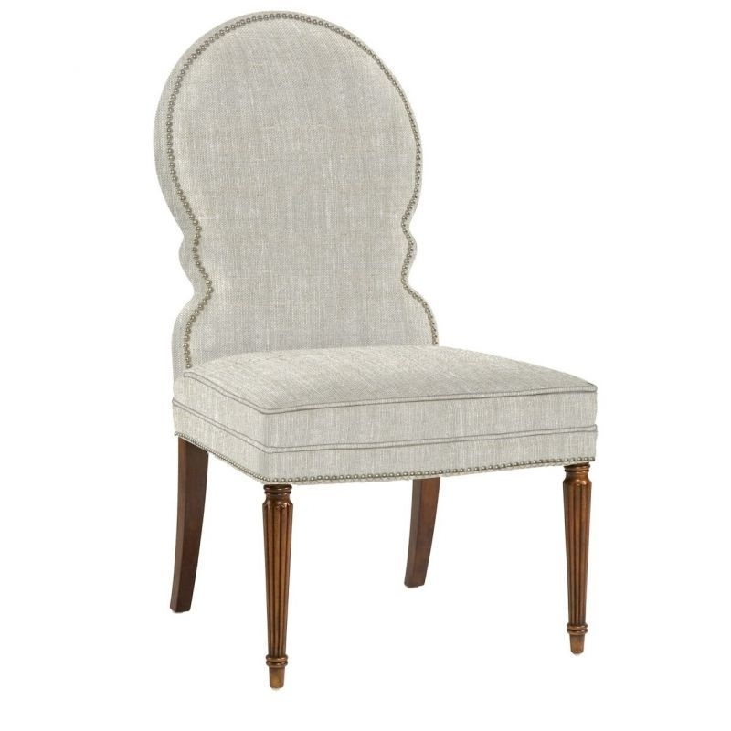 Belle Meade Signature Sadie Venetian Dining Side Chair (View 4 of 20)