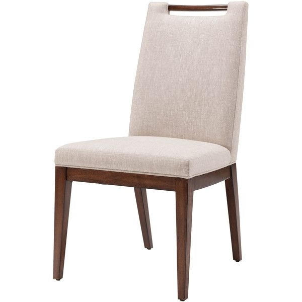 Belmeade Side Chairs Within Preferred Belle Meade Signature Liv Dining Chair ($978) ❤ Liked On Polyvore (View 3 of 20)
