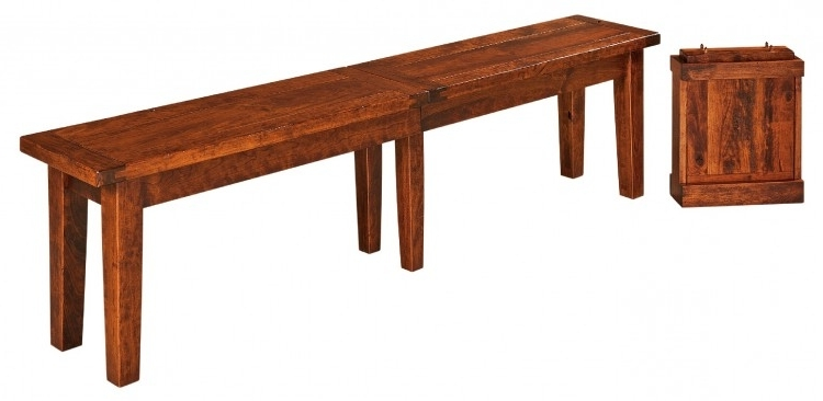 Benson Bench : 253 Benb 102 : Dining Furniture : Dining Benches For Recent Benson Rectangle Dining Tables (View 3 of 20)