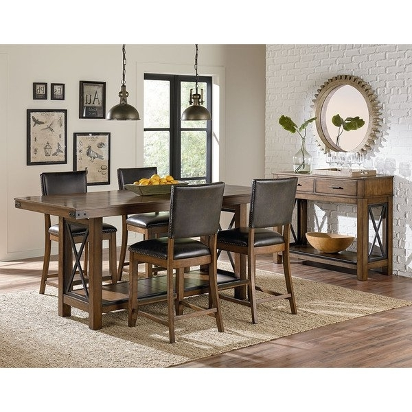 Benson Counter Height Dining Table – Free Shipping Today – Overstock With Latest Benson Rectangle Dining Tables (View 4 of 20)