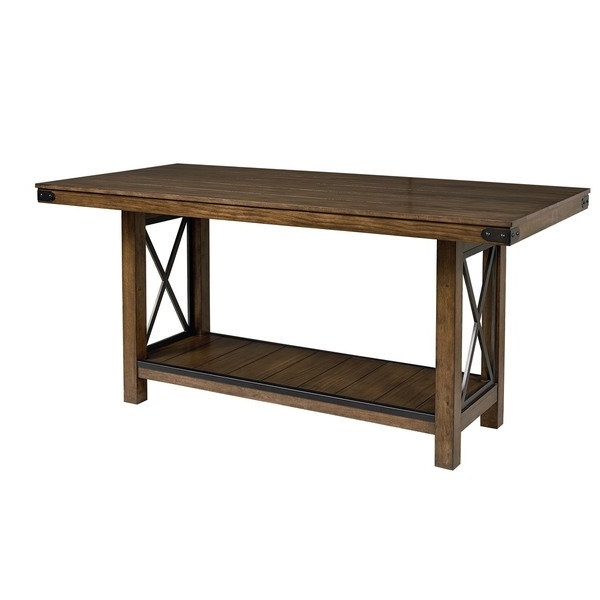 Benson Counter Height Dining Table – Free Shipping Today – Overstock Within Well Known Benson Rectangle Dining Tables (View 5 of 20)