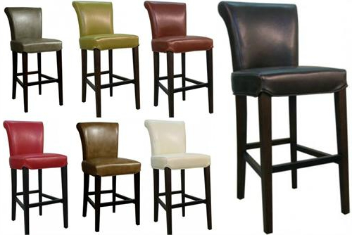 Bentley Leather Counter Stool Pertaining To Current Valencia 4 Piece Counter Sets With Bench & Counterstool (View 6 of 20)