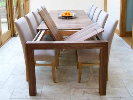 Bespoke Contemporary Tables Within Most Current Walnut Dining Tables (View 3 of 20)