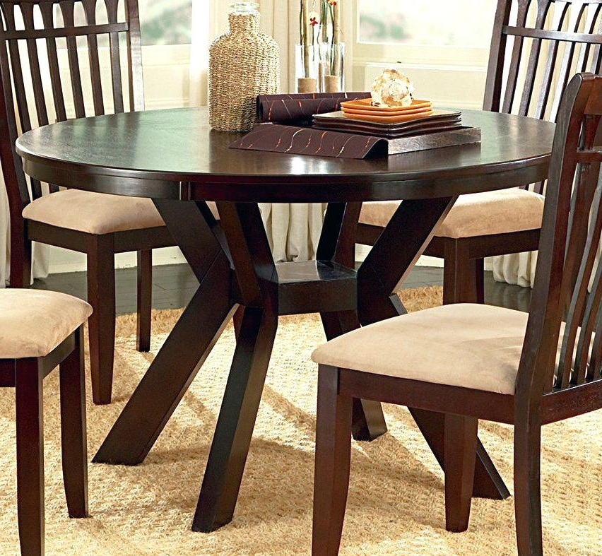 Best And Newest 48 Inch Dining Table Awesome Inch Round Dining Table Of In Antique Throughout Combs 48 Inch Extension Dining Tables (View 20 of 20)