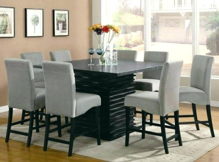 Best And Newest 8 Seat Dining Table Set Dining Tables Amusing Round Table Sets Throughout 8 Seat Dining Tables (View 11 of 20)