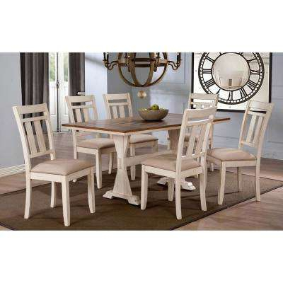 Best And Newest Baxton Studio – Kitchen & Dining Room Furniture – Furniture – The Pertaining To Laurent 7 Piece Rectangle Dining Sets With Wood Chairs (Gallery 15 of 20)
