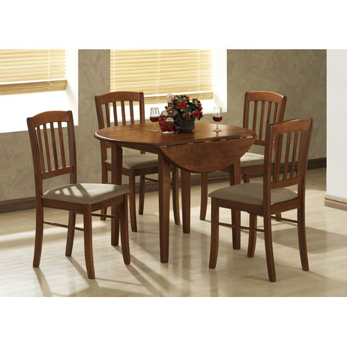 Best And Newest By Designs Buller 4 Seater Dropside Dining Table & Chair Set With Dining Table Chair Sets (View 3 of 20)