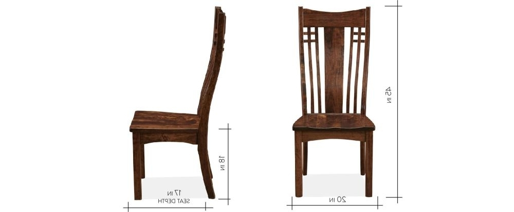 Best And Newest Chandler Wood Side Chairs With Regard To Chandler Side Chair (View 8 of 20)