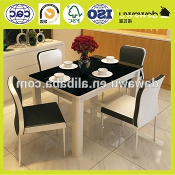 Best And Newest Dining Room Set Modern 4 Seater Extendable Dining Table – Buy Intended For 4 Seater Extendable Dining Tables (View 8 of 20)
