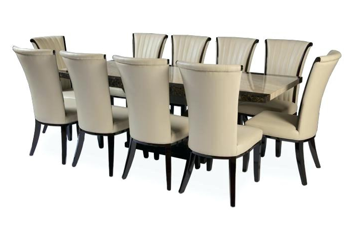 Best And Newest Dining Table And 10 Chairs Regarding 10 Chair Dining Table Set – Dining Room Design (View 8 of 20)