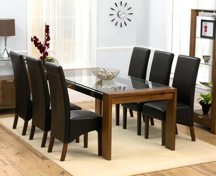Best And Newest Exotic 6 Chair Dining Table 6 Chair Dining Table Set Regarding Room Inside 6 Seater Round Dining Tables (View 17 of 20)