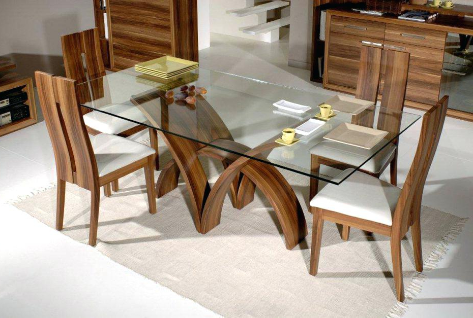 Best And Newest Extending Glass Top Dining Table Set Glass Kitchen Table Sets Oak Regarding Oak And Glass Dining Tables And Chairs (Gallery 17 of 20)