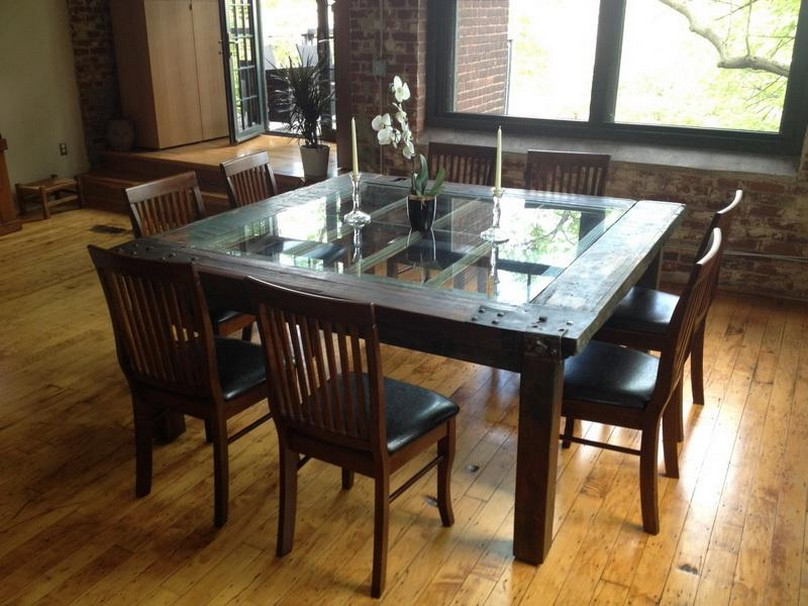 Best And Newest Glass Wood Dining Table Glass And Wood Dining Tables Qjauevn – Home With Regard To Wooden Glass Dining Tables (View 4 of 20)