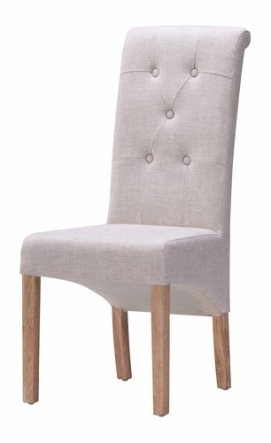 Best And Newest Hayes Side Chairs With Regard To Hayes Valley Dining Chair Beige (Set Of 2)Zuo Modern (View 2 of 20)