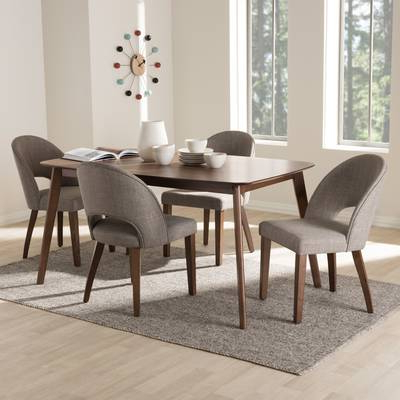 Best And Newest Helms 7 Piece Rectangle Dining Sets Intended For Latitude Run Chelmsford 7 Piece Dining Set (View 3 of 20)