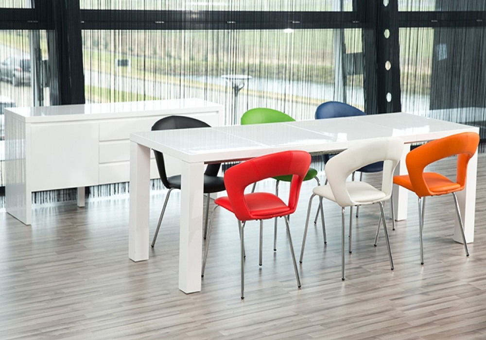 Best And Newest High Gloss Extendable Dining Tables With Regard To Our Frances Dining Table In Detail – Fads Blogfads Blog (View 10 of 20)