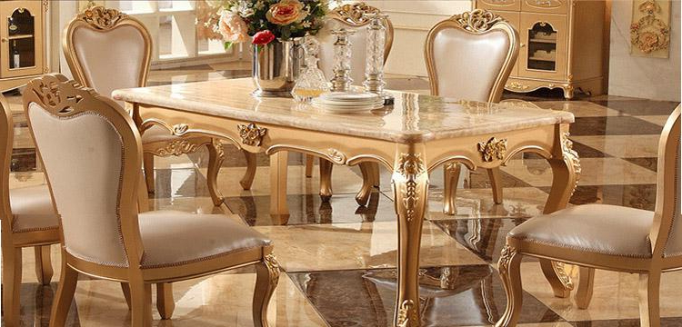Best And Newest Imperial Dining Tables For European Long Marble Dining Table Dining Table Dinette Combination (Gallery 5 of 20)