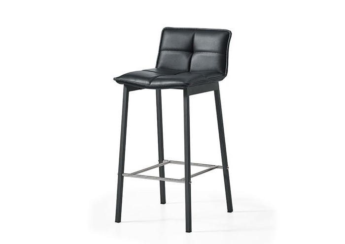 Best And Newest Jaxon Grey Upholstered Side Chairs For Jaxon Barstool – Jar Furniture (View 8 of 20)