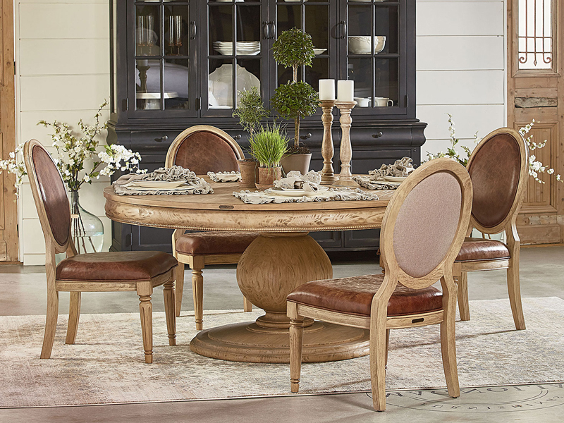 Best And Newest Magnolia Home Breakfast Round Black Dining Tables Intended For Belgian Breakfast Table Collectionmagnolia Home (View 1 of 20)
