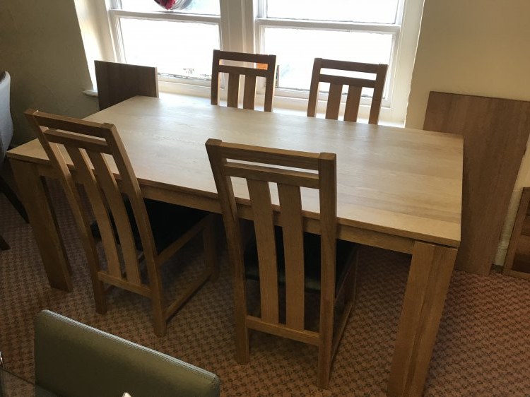 Best And Newest Mayfair Dining Table & 4 Chairs (View 3 of 20)