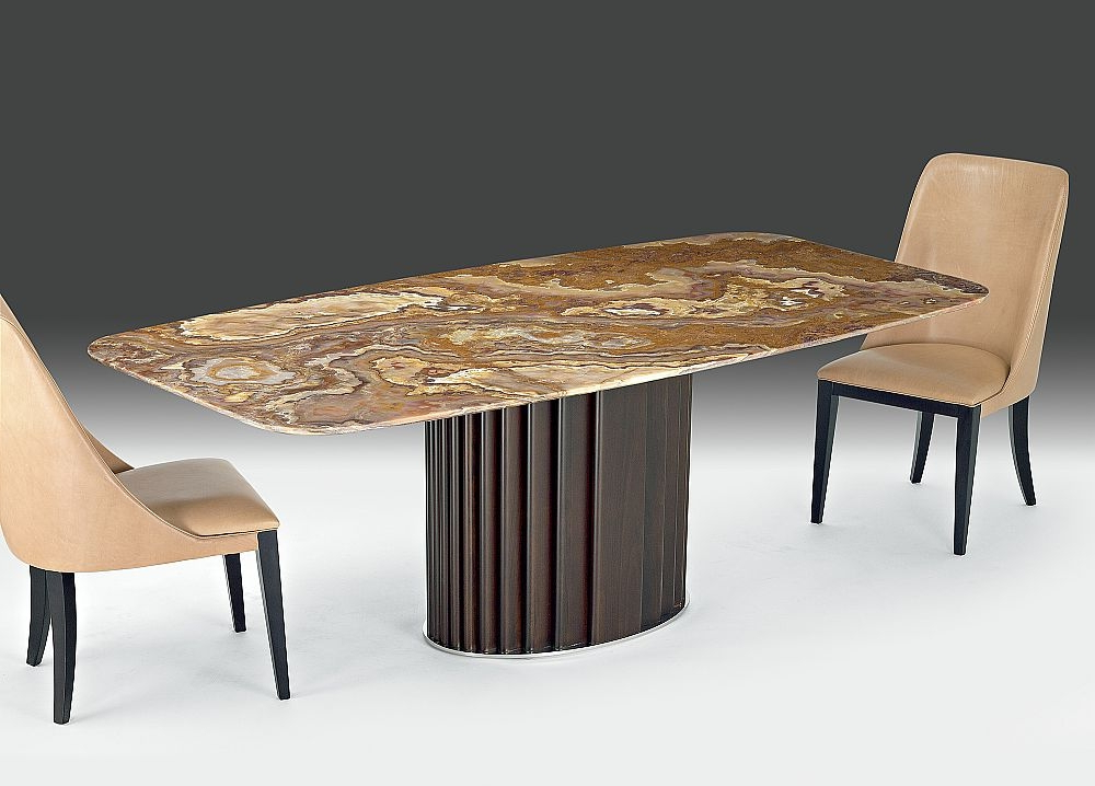 Best And Newest Mayfair Dining Tables For Buy Stone International Mayfair Marble Rectangular Dining Table With (View 4 of 20)
