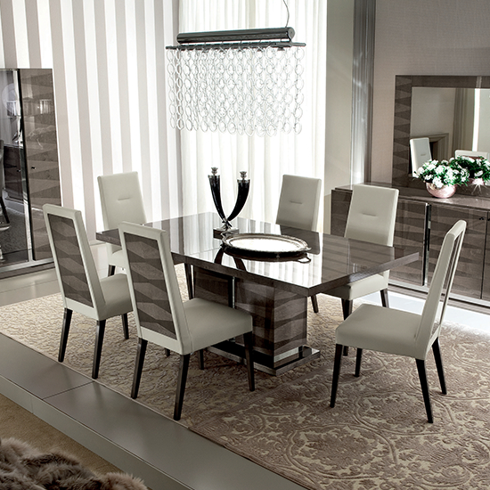 Best And Newest Monaco Dining Tables Inside Alf Italia – Monaco Dining Set – Kobos Furniture (View 4 of 20)