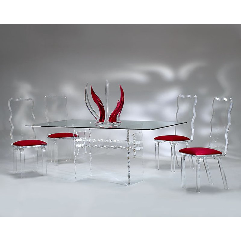 Best And Newest Muniz Crystal Dining Table (View 2 of 20)