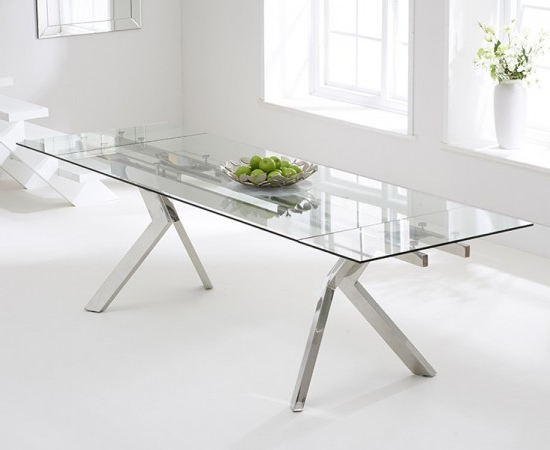 Best And Newest Palazzo 200 Cm Glass Extending Dining Table (Gallery 1 of 20)