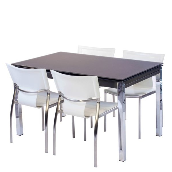 Best And Newest Pisa Frosted Glass Dining Table – House Of Denmark House Of Denmark Intended For Pisa Dining Tables (View 16 of 20)