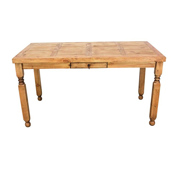 Best And Newest Rustic Pine Collection – Lyon Dining Table – Mes11 Within Lyon Dining Tables (View 6 of 20)