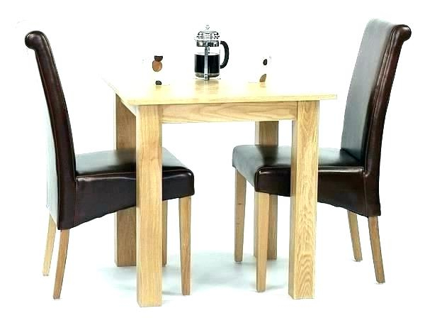 Best And Newest Small Drop Leaf Kitchen Table 2 Chairs Small Dining Table For 2 Within Dining Tables And 2 Chairs (Gallery 6 of 20)