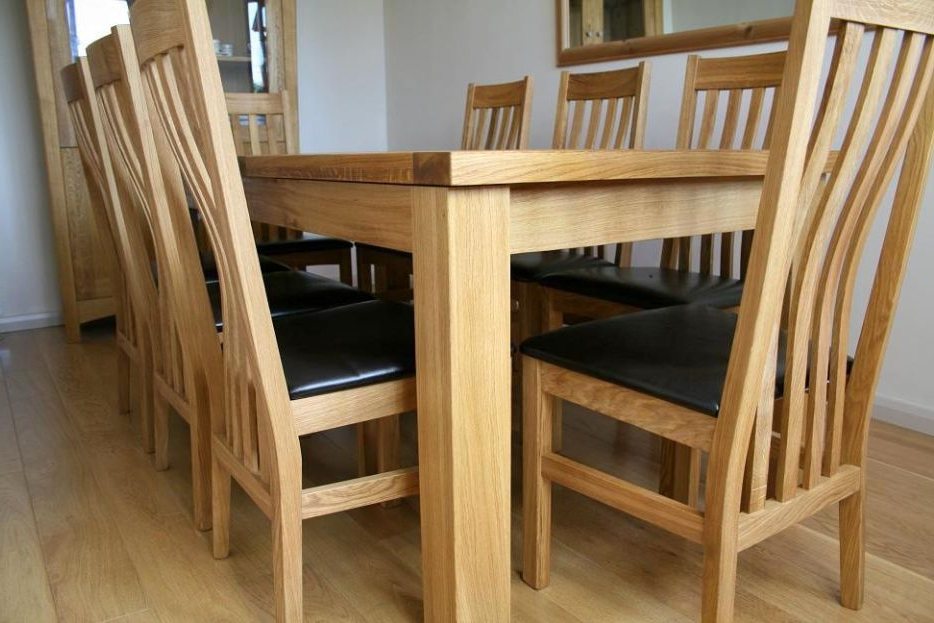 Best And Newest Tallinn Oak Dining Sets (View 20 of 20)