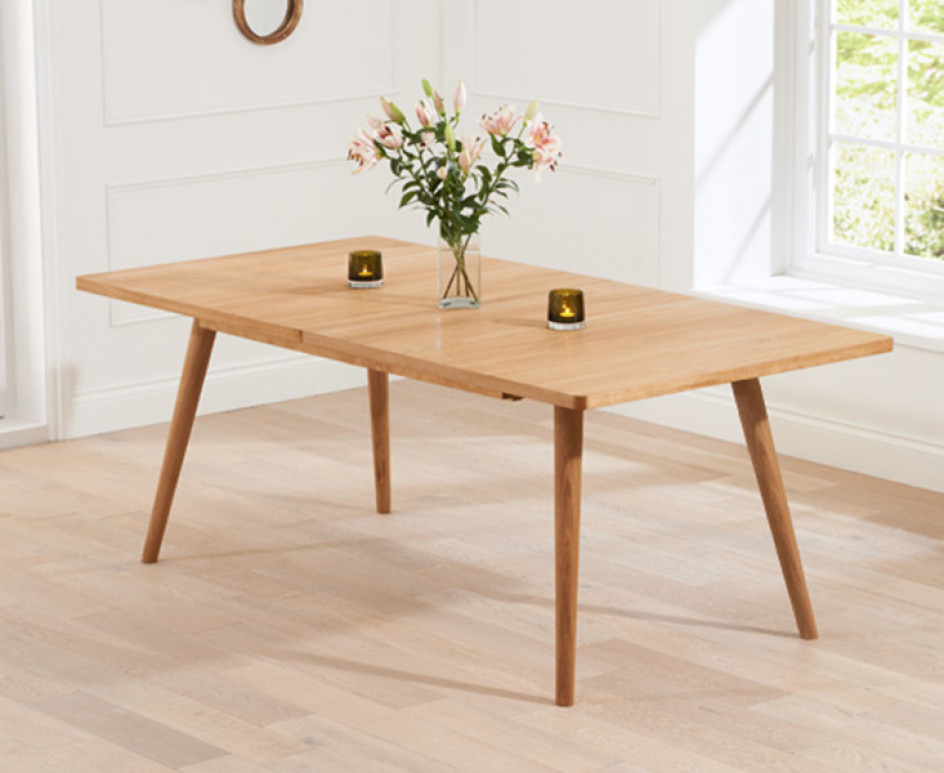 Best And Newest Tivoli 150Cm Retro Oak Extending Dining Table (Gallery 1 of 20)