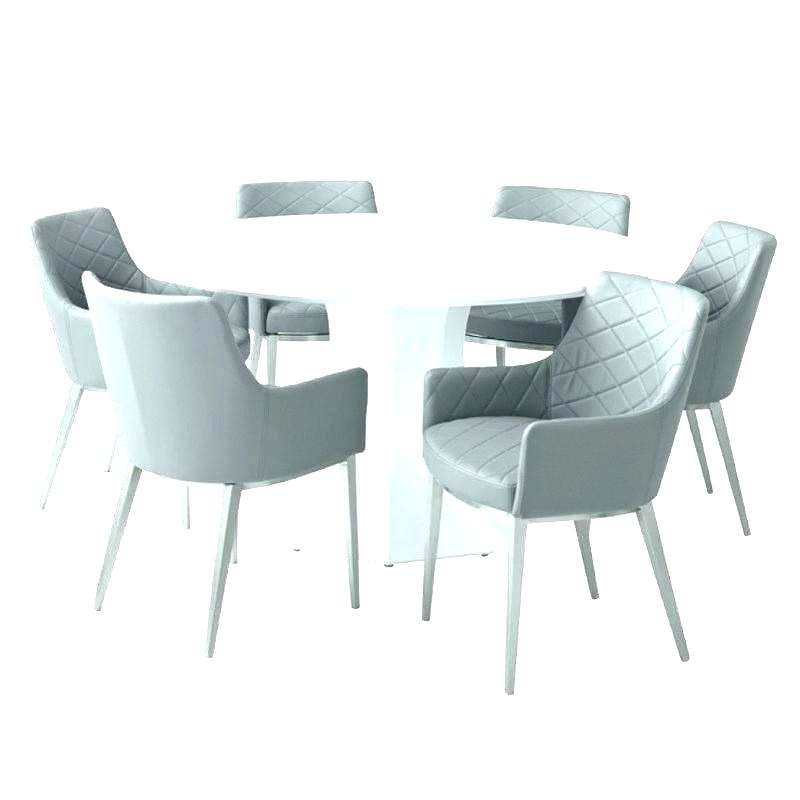 Best And Newest White Gloss Round Table And Chairs – Modern Computer Desk Regarding Round High Gloss Dining Tables (View 16 of 20)
