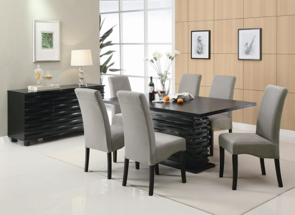 Best Modern Dining Room Sets — Bluehawkboosters Home Design Throughout Preferred Contemporary Dining Tables Sets (View 3 of 20)