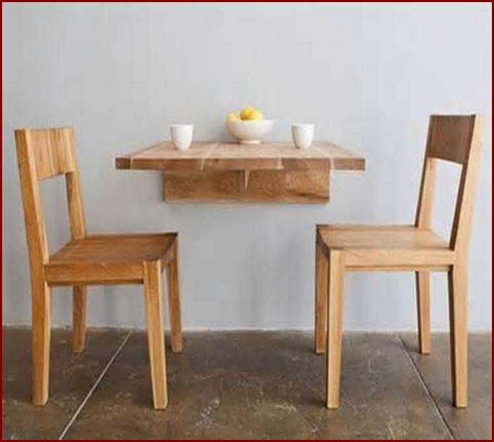 Best Of Folding Dining Table For Small Space Design – Home Interior In Most Popular Dining Tables With Fold Away Chairs (View 16 of 20)