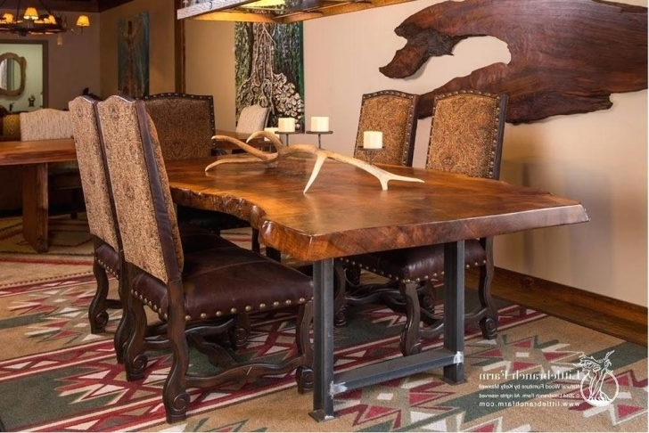 Big Dining Tables For Sale Intended For Famous Large Rustic Dining Room Table Gorgeous Sets 40 Living And Chairs (View 16 of 20)