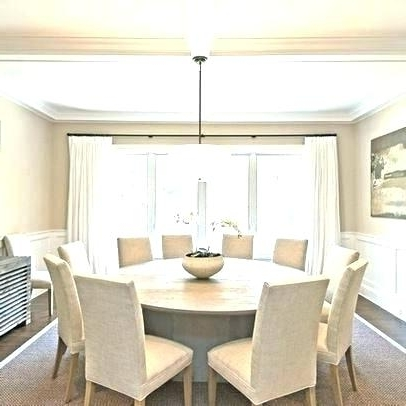 Big Dining Tables For Sale With Regard To Trendy Big Round Dining Table Great Large Round Dining Table Big Dining (View 7 of 20)