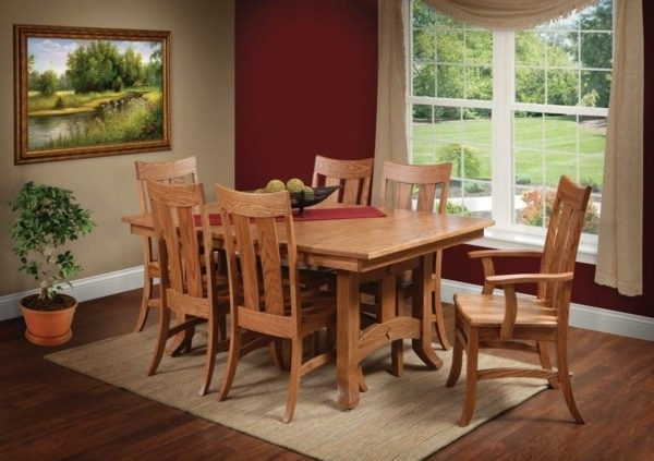 Biltmore 7 Piece Room Scene – Home Acres Fine Furniture • Hand Throughout Well Liked Biltmore Side Chairs (View 10 of 20)
