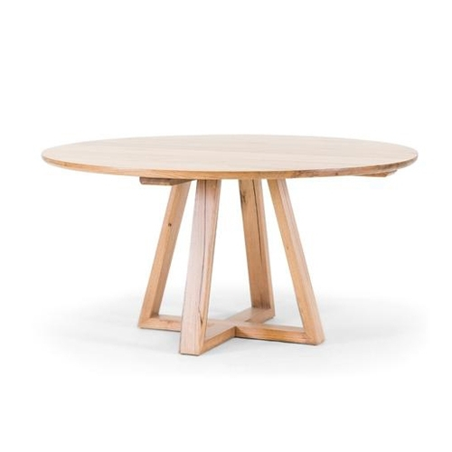 Birch Dining Tables Throughout Popular Vista Round Dining Table – Oliver Birch Furniture (View 1 of 20)