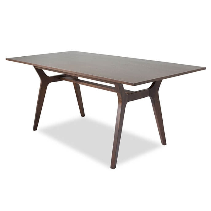 Birch Mid Century Modern Dining Table Intended For 2017 Birch Dining Tables (View 9 of 20)