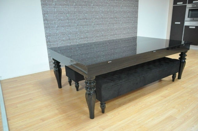 Black 8 Seater Dining Tables For Well Liked Verona Pool Dining Table 180 – Six To Eight Seater – Sam Leisure (View 15 of 20)