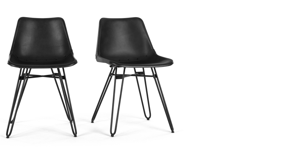 Black Dining Chairs For Comfortable Eating – Darbylanefurniture With 2018 Black Dining Chairs (View 2 of 20)